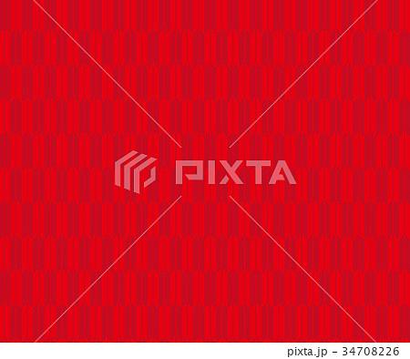 矢絣-赤色 34708226