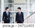 ビジネス 新人 ビジネスマンの写真 34711453