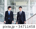 ビジネス 新人 ビジネスマンの写真 34711458