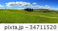 Tuscany panorama hills landscape 34711520