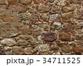 old stone and brick wall  background 34711525
