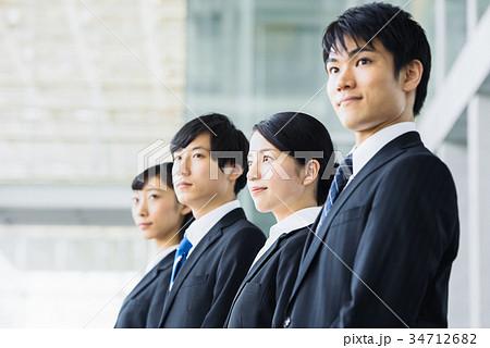 ビジネス 若手 新人 就活イメージ 34712682