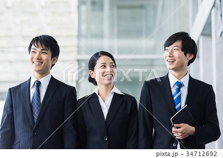 ビジネス 若手 新人 就活イメージ 34712692