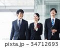 ビジネス 新人 会社員の写真 34712693
