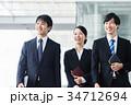 ビジネス 新人 会社員の写真 34712694