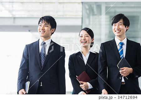 ビジネス 若手 新人 就活イメージ 34712694