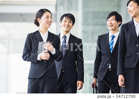 ビジネス 若手 新人 就活イメージ 34712700