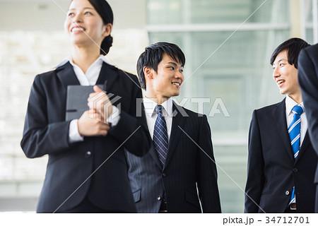 ビジネス 若手 新人 就活イメージ 34712701