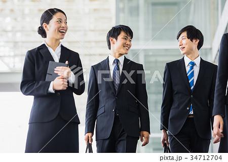 ビジネス 若手 新人 就活イメージ 34712704