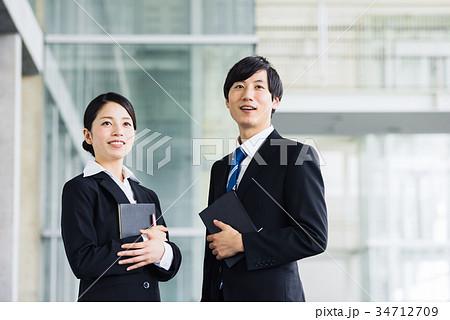 ビジネス 若手 新人 就活イメージ 34712709