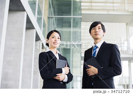 ビジネス 若手 新人 就活イメージ 34712710