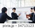 ビジネス 新人 会社員の写真 34713123