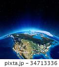 地球 スペース 空間のイラスト 34713336