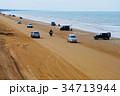千里浜なぎさドライブウェイ 海 海岸の写真 34713944