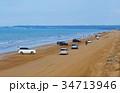 千里浜なぎさドライブウェイ 海 海岸の写真 34713946