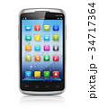 Modern touchscreen smartphone 34717364