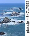 風景 襟裳岬 海の写真 34717552