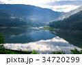 草木湖 湖 早朝の写真 34720299