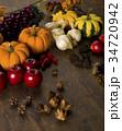 おもちゃかぼちゃ 南瓜 野菜の写真 34720942