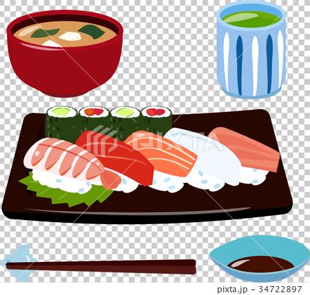壽司 套餐 定食 34722897