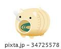アイコン ベクターデータ ベクターのイラスト 34725578