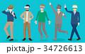 ビジネス 職業 マンガのイラスト 34726613