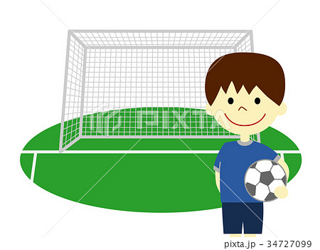 サッカー 男の子 34727099