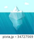 氷山 ベクタ ベクターのイラスト 34727569