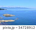 風景 高野崎 海の写真 34728912