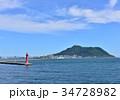 風景 海 青空の写真 34728982