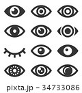 Eyes Icon Set 34733086
