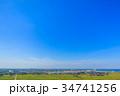 袖ケ浦市 市役所 袖ヶ浦駅 アウトレットパークとその周辺を空撮 34741256