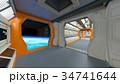宇宙船 宇宙 sfのイラスト 34741644