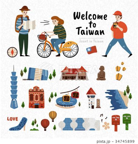 Taiwan Attraction Set 34745899