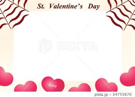 バレンタイン 34755670