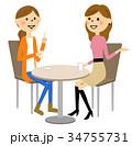 友達 おしゃべり 会話のイラスト 34755731