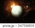 Planet Uranus. 34756859