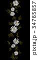 フローラル パターン 柄のイラスト 34765857
