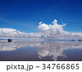 ウユニ塩湖 ボリビア 34766865
