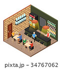 Isometric Beer Shop 34767062