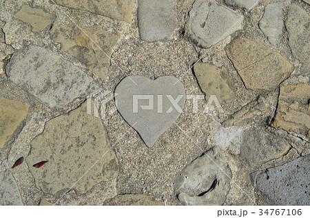 【長崎県】グラバー園・ハート型の石 34767106