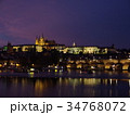 プラハの夜景 34768072