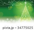 背景 ベクター クリスマスのイラスト 34775025