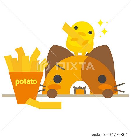 ネコとーく。三毛猫+グルメ 34775364