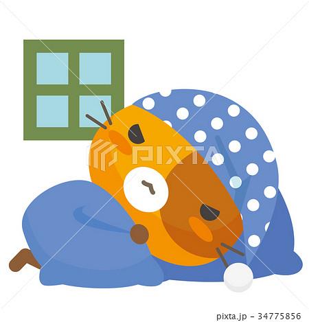 ネコとーく。三毛猫+パジャマ 34775856