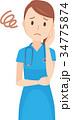 ベクター 女性 看護師のイラスト 34775874