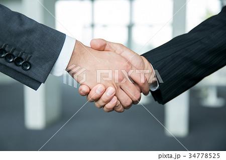 握手 ビジネス 34778525