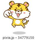 トラ・キャラクター01 34779150