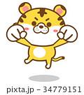 トラ・キャラクター02 34779151