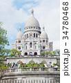 モンマルトル サクレクール寺院 34780468